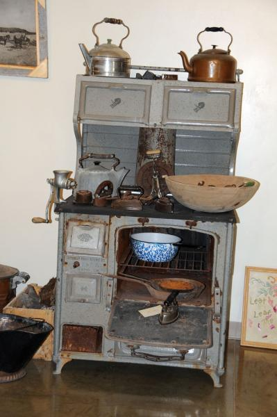 Wood and Coal Cook Stove